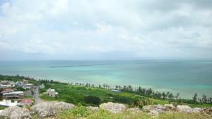 view from Katsuren castle