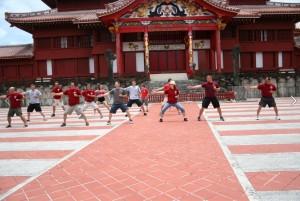 kata at Shuri Castle