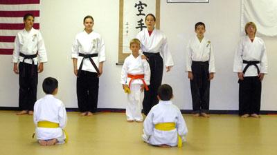 karate teaches self-discipline