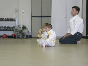Controlling Yourself Kids Karate