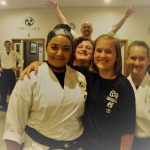 Buddies in karate