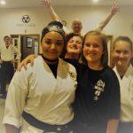 Buddies in karate