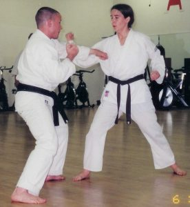 karate training testing