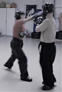 sparring for adults and kids in karate