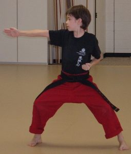 karate kid shows traditional karate builds confidence
