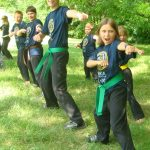 enthusiasm and no crying in karate