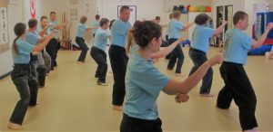 traditional karate builds fitness with kata repetition