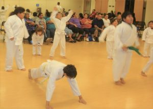 traditional karate builds fitness with calesthenics