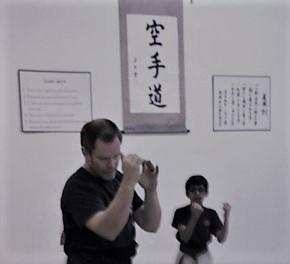 karate builds character through the Dojo Kun