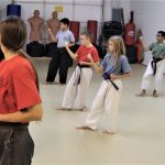 kids' karate builds physical skills