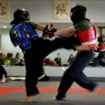 karate builds self defense abilities with sparring