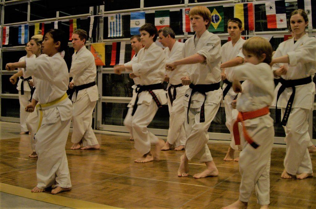training in kata builds self defense