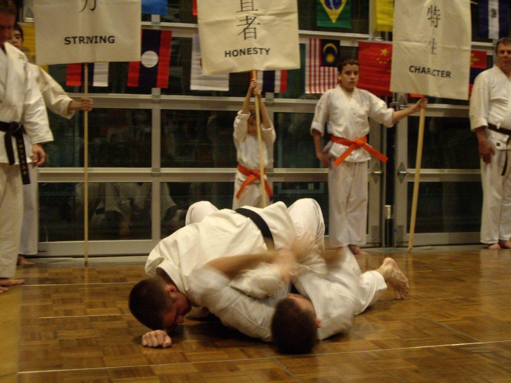 ground fighting