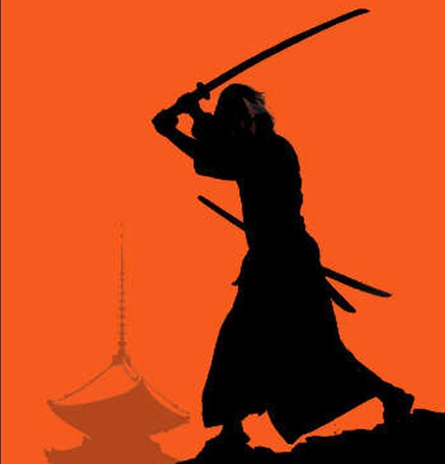 samurai ready to train samurai kids