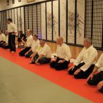 inside the dojo at U.R.K.A. Summer Camp