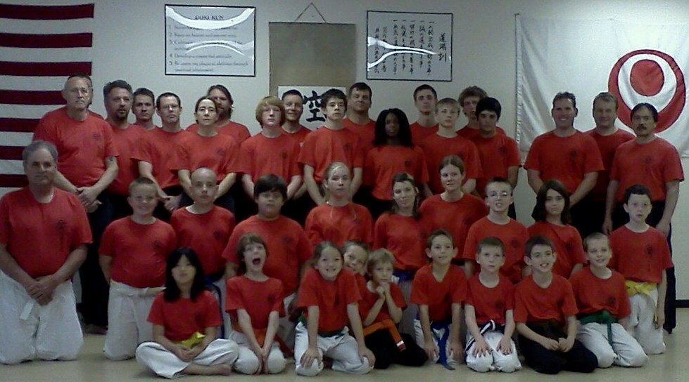 one of the secret teachings of karate is that co\mmunity is important