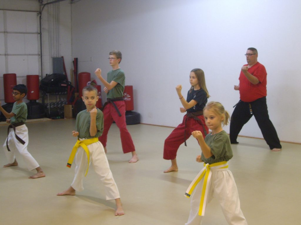 year-round consistency helps children progress after they begin martial arts