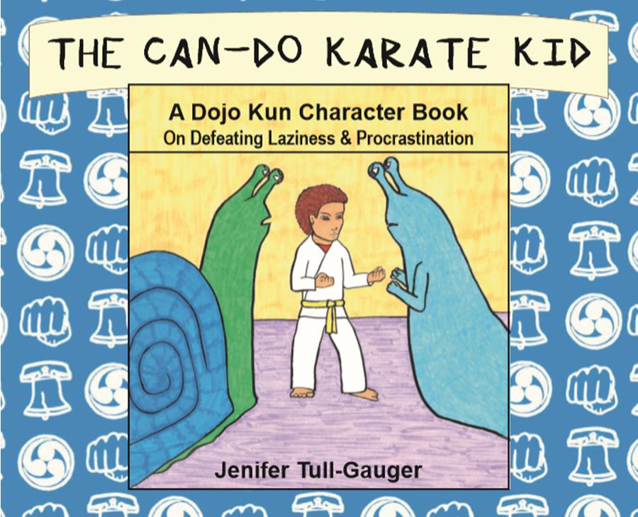 The Can-Do Karate Kid book has the kempo fist on the cover