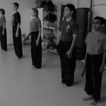 karate youth showing discipline and focus