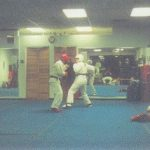 sparring is one way that karate teaches fitness
