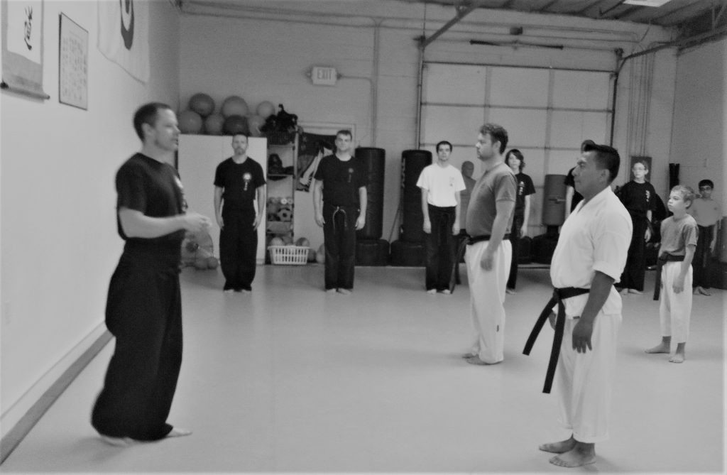By using the Dojo Kun, karate teaches you how to fight without moral qualms.