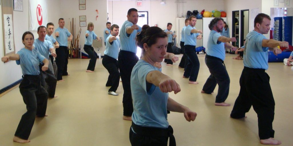 Arizona Spring Karate Camp group kata