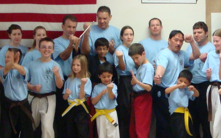 I love karate for the positive support and fun workout