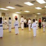 I love karate class